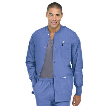 Landau Landau Men's Warm-up Jacket Scrub Top