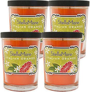 Stella Mare Italian Orange Scented 8 oz. Soy Candles