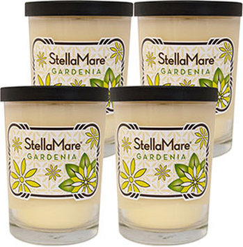 Stella Mare Gardenia Scented 8 oz. Soy Candles