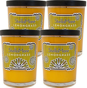 Stella Mare Lemongrass Scented 8 oz. Soy Candles