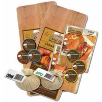 Kelly Craig CLSALMGRILL Salmon Plank Grill Set 30 Count