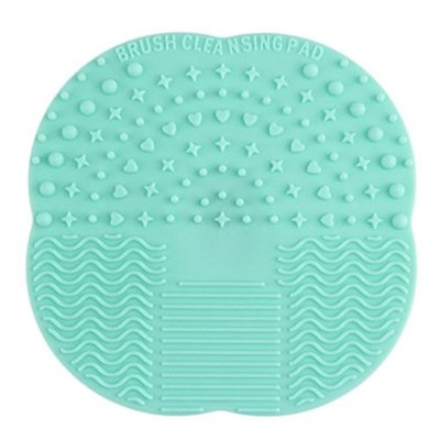 1 Piece Makeup Brushes Set Silicone Cleaning Washing Cleaner Scrubber Mat Pad Cosmetic Make Up Tool Foundation Natural Beauty Palette Eyeshadow Vanity Important Popular Hair Highlights Kit, Type-05