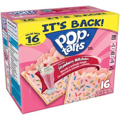 Kellogg's Pop-Tarts Frosted Strawberry Milkshake Toaster Pastries
