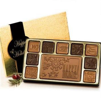 Chocolate Chocolate 302122 19 Piece Happy Holidays Chocolate Assortment