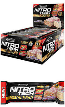 Muscletech Nitro Tech™ Crunch Protein Bars Birthday Cake