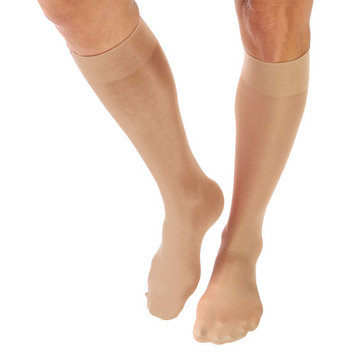 2 Pair Moderate Compression Knee High Socks - Wide Calf