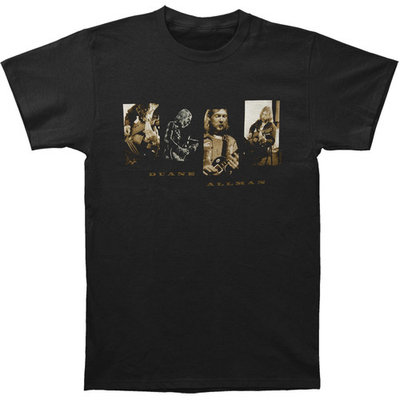 Allman Brothers Men's Duane Allman Re-Evolution Slim Fit T-shirt Black [clothing_size_type: clothing_size_type-regular]