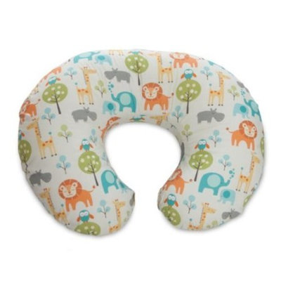Boppy Pillow with Slipcover, Peaceful Jungle