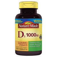 Pharmavite Llc Nature Made Vitamin D3 Dietary Supplement Tablets, 1000IU, 350 count