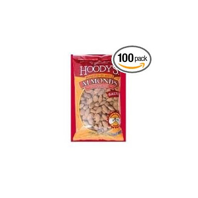 Hoody's 100 PACKS: Hoodys All American Roasted and Salted In Shell Peanut, 1.5 Ounce - 100 per case.