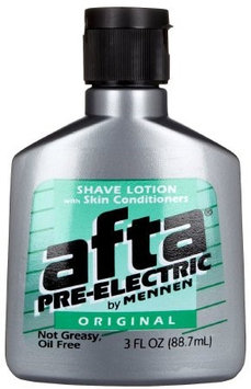 AftaPre-Electric Pre-Shave Lotion 3 oz, 6 Pack