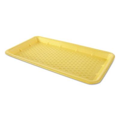 Gen-Pak GNPW1025SYL Foam Supermarket Trays Yellow - 15 x 8 in. - 125 Per Bag & Bag of 2