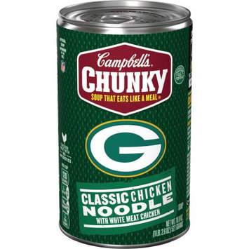 Campbell Soup Co Campbell's ® Chunkyâ ¢ Classic Chicken Noodle Soup Featuring NFL Green Bay Packers, 18.6 oz.