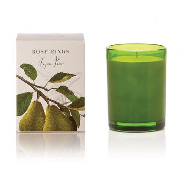 Rosy Rings Botanica Glass Candle 17.5 Oz. - Anjou Pear