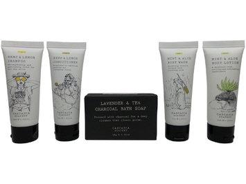 Cascadia Soapery Travel Set Shampoo, Conditioner, Body Wash, Lotion, & Soap