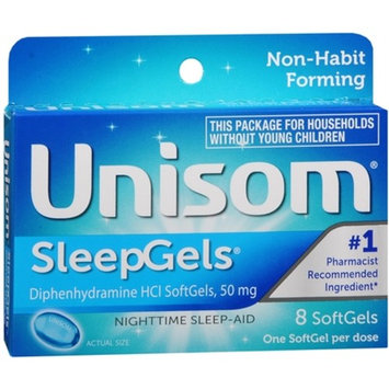 Unisom SleepGels 8 Caps