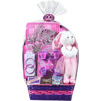 Princess and Pals Easter Basket with Toys and Assorted Candies, 8 pc