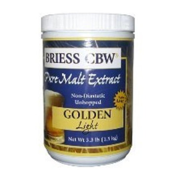 Briess CBW Golden Light Single Canister 3.3 lb
