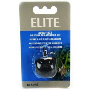 Elite Aqua Fizzz Round Aquarium Air Stone 1-3/16 Diameter Stone