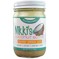 Nikki's Gluten Free Coconut Butter Honey Pecan Pie -- 12 oz pack of 1