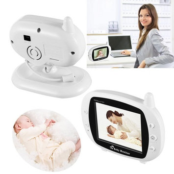 Baby Monitor Video Baby Infant Monitor Wireless Digital Camera with Night Vision Two Way Talk Long Range 3.5inch LCD KRGL