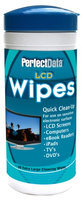 Perfectdata Extra Large LCD Cleaning Wipes 30 Count