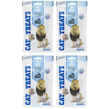 H3 Essentials 840235148746 0.5 oz Big Cat Rescue Freeze Dried Minnows Treats for Cats Pack of 4