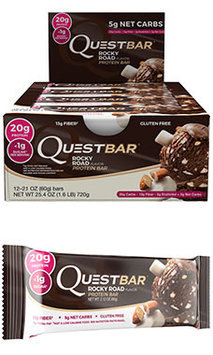 Quest Nutrition Quest Bars Rocky Road