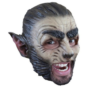 Wolf Latex Mask - One Size Fits Most