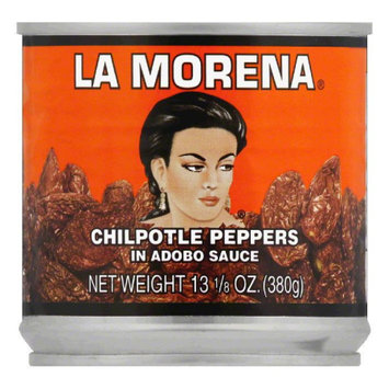 La Morena Chipotle Peppers in Adobo Sauce, 13.125 oz, (Pack of 6)