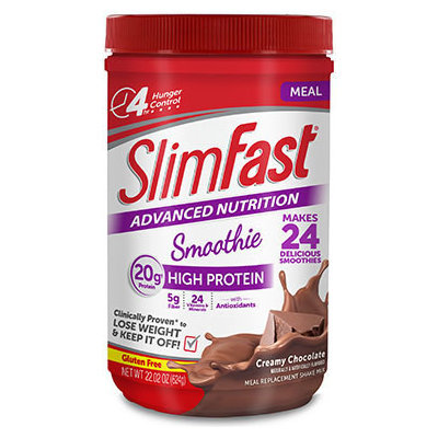 SlimFast Advanced Nutrition High Protein Smoothie Creamy Chocolate Shakes