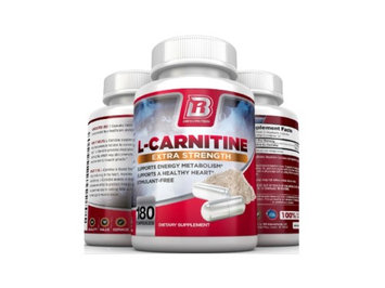 BRI Nutrition L-Carnitine Supplement 180 Ct