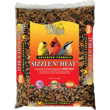 Wild Delight Sizzle N' Heat Songbird Wild Bird Food Sunflower Kernels 5 lb.