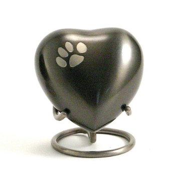Oneworld Memorials Slate Paw Pet Heart Keepsake