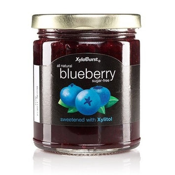 Blueberry Fruit Jam XyloBurst 10 oz Glass Jar