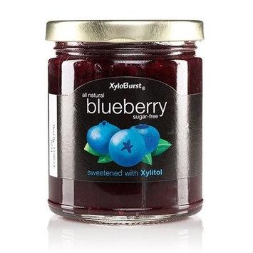 Blueberry Fruit Jam XyloBurst 10 oz Glass Jar