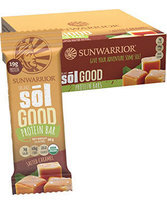 Sunwarrior Sol Good Protein Bars Salted Caramel