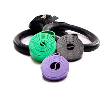 Rubberbanditz and Rings Kit - Heavy, Robust, Power - 30 - 250 lb (14 - 113 kg)