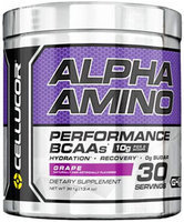 Cellucor Alpha Amino BCAAs Grape 13.4 oz.