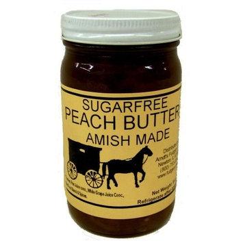 No Sugar Added Flavored Peach Butters -8 Oz. Jar - Qty 3
