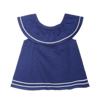 Baby Girls Flounce Top & Heart-Print Leggings, Created for Macy's