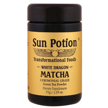 Sun Potion, White Dragon Matcha, Ceremonial Grade Green Tea Powder, 1.94 oz (55 g)