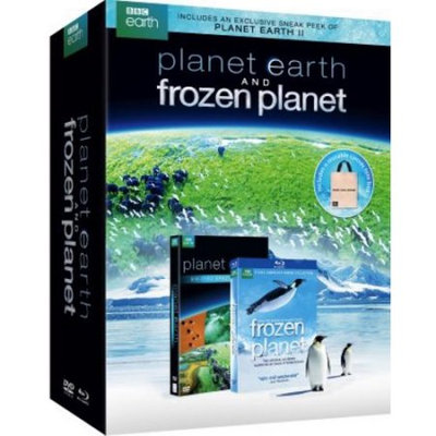 Bbc Home Entertainment Planet Earth Giftset DVD (Standard Screen; Soundtrack English; Special Edition)