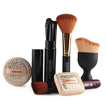 AutumnFall® 10pcs Makeup Brush Makeup Face Puff Makeup Foundation Brush