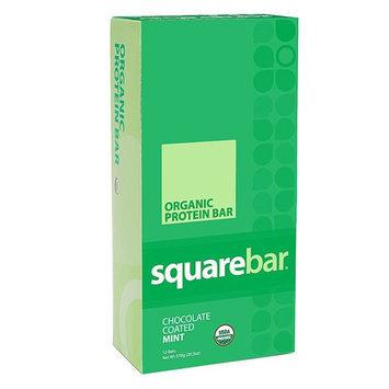 Squarebar - Organic Protein Bar Cocoa Mint - 48 Grams