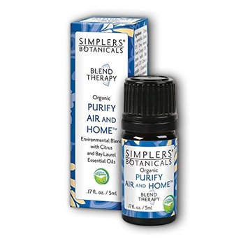 Simplers Botanicals, White, Purify Air and Home, 5 Milliliters, 0.16 Fluid Ounce