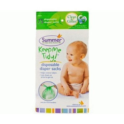 Summer Infant Nappy/Diaper Disposal Bags x75