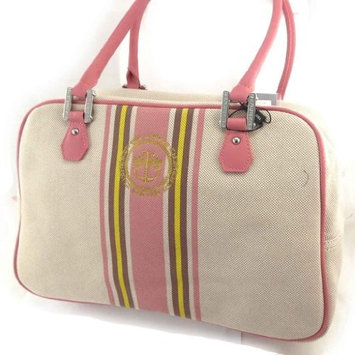 'french touch' bag 'Ted Lapidus' pink beige.