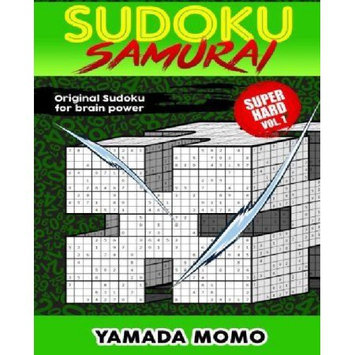 Createspace Publishing Sudoku Samurai Super Hard: Original Sudoku For Brain Power Vol. 1: Include 100 Puzzles Sudoku Samurai Super Hard Level