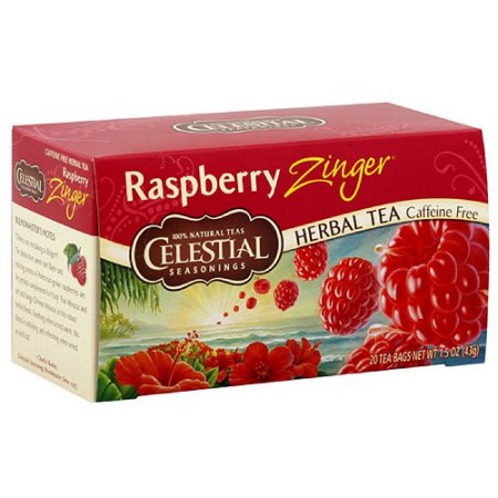 Celestial Seasonings® Raspberry Zinger Herbal Tea Caffeine Free